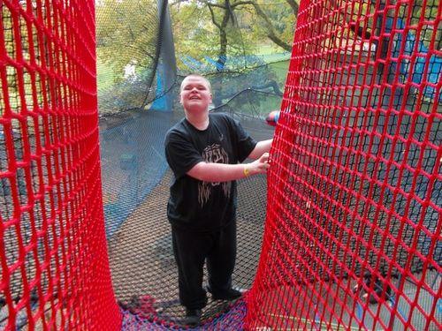 Liam Brockholes Tree adventure October 14