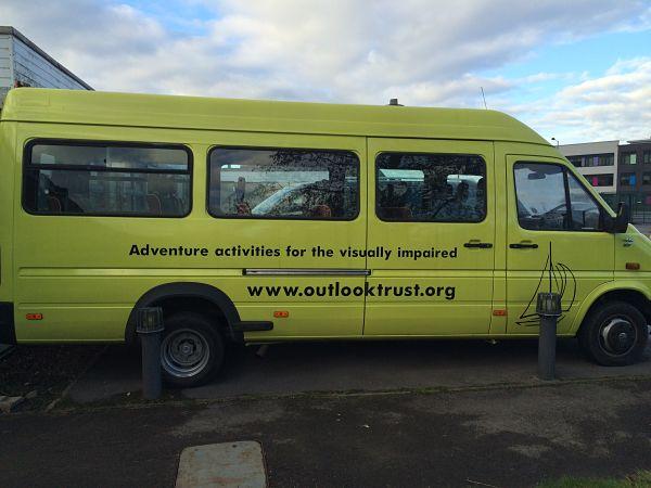 Outlook Trust Charity Mini Bus